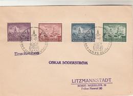 Allemagne Einschreiben Lettre Recommandée Cachet Illustré LUBLIN 3 4 /10/1942 - Lettres & Documents