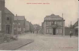 NEUVILLE SAINT REMY : RUE D'OISY(RARE). - France