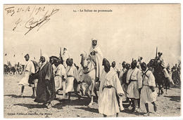 MAROC - Le Sultan En Promenade - Ed. Niddam Et Assouline, Fez - Maroc