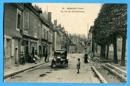 18 - Cher -  Aubigny - La Rue De Cambournace  (0834) - Aubigny Sur Nere