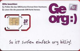 Austria - Georg! White GSM SIM5 Mini-Micro, Mint - Autriche