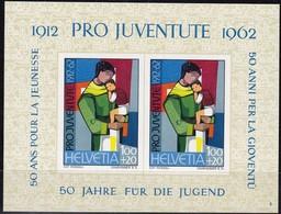 Schweiz, 1962,763 Block 18. Pro Juventute 1962. MNH ** - Blocks & Sheetlets & Panes