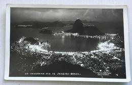 RIO DE JANEIRO -PANORAMA - FOTO POSTAL COLOMBO- VIAGGIATA FP S/FRANC - Rio De Janeiro