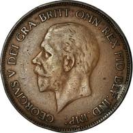 Monnaie, Grande-Bretagne, George V, Penny, 1931, TB+, Bronze, KM:838 - 1902-1971 : Monnaies Post-Victoriennes