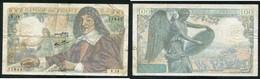 100 F DESCARTES 15.5.1942 - 1871-1952 Anciens Francs Circulés Au XXème