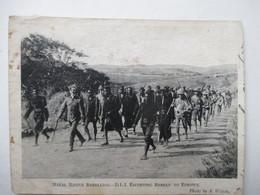 NATAL  NATIVE  REBELLION  D.L.I. ......    ROUSSEURS     ( 11.5 X  8.5  CM.  ) - Afrique Du Sud
