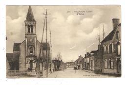 CPA 18 VILLABON L'Eglise - Autres Communes