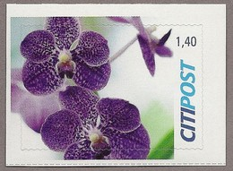 BRD - Privatpost - Citipost -  Orchidee Blüte - BRD