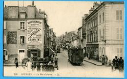 18 - Cher -  Bourges - La Rue D'Auron (0843) - Bourges