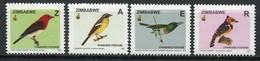 Simbabwe Zimbabwe Mi# 808-11 Postfrisch/MNH - Fauna Birds - Zimbabwe (1980-...)