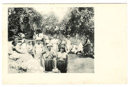COLOMBIE - COLOMBIA - Women Taking A Bath In The River - Oblit. Panama - Colombie