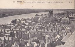 BLOIS (41) Vue Générale . Oblitération Facteur Boitier Cercottes Au Dos - Blois
