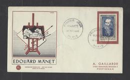 FRANCE.  YT  FDC  N° 931  Oblitération 1er Jour  18-10-52 - 1950-1959