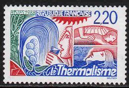 FRANCE : N° 2556 ** (Le Thermalisme) - PRIX FIXE : 1/3 De La Cote - - Unused Stamps