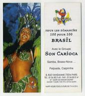 Marque-page : La Pachanga. Carioca Sexy. Carnaval, Brésil, Samba, Bossa-nova, Rio De Janeiro... - Lesezeichen