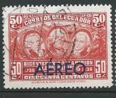 Equateur    Aérien   Yvert N° 43 Oblitéré      Aab 27525 - Ecuador