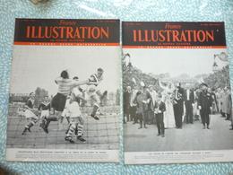 France Illustration 12 Numéros Consécutifs De 1951 Du N° 291 12 Mai 1951 Au N° 302 28 Juillet 1951 - Testi Generali