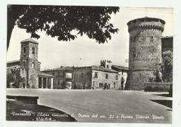 VASANELLO - CHIESA ROMANICA S.MARIA DEL SEC.XI E PIAZZA VITT. VENETO - AFFRANCATA FG - Viterbo