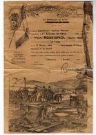 XIe Bataillon Du Gènie Certificat De Bonne Conduite Pour Le 1er S.M. ROSSIGNOL Maurice - Historical Documents