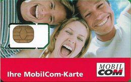 Germany - Mobilcom - Ihre MobilCom-Karte, GSM SIM2 Mini, Mint - Allemagne