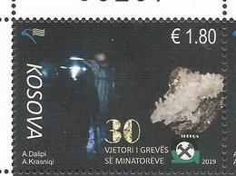 KOS 2019-13 Minatorev-mineral, KOSOVO, 1v, MNH - Kosovo
