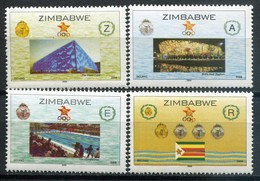 Simbabwe Zimbabwe Mi# 909-12 Postfrisch/MNH - Olympic Games Beijing 2010 - Zimbabwe (1980-...)