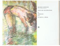 Pochette De 8 Illustrations De Aberlenc Pour L'ouvrage La Boite à Pêche De Maurice Genevoix - Estampas & Grabados
