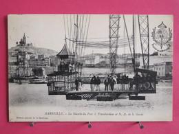 13 - Marseille - La Nacelle Du Pont à Transbordeur Et N. D. De La Garde - Scans Recto Verso - Vieux Port, Saint Victor, Le Panier