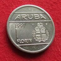 Aruba 1 Florin 1991 KM# 5 *V1 - [ 4] Colonies