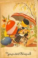 FAN 013 - CPA - Fantaisies - Joyeuses Pâques - Lot De 6 Cartes - 5 - 99 Cartes