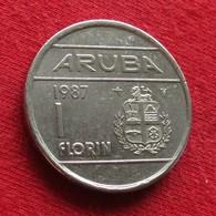 Aruba 1 Florin 1987 KM# 5 *V1 - [ 4] Colonies