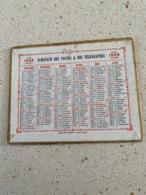 CALENDRIER 1888  Oberthur  DIM : 13 Cm / 10 Cm - Kalender