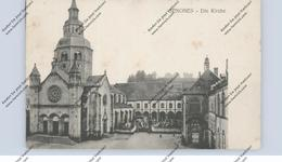 F 88210 SENONES, Die Kirche, 1915, Deutsche Feldpost - Senones