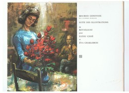 Pochette De 8 Illustrations De RETAILLEAU Pour Les Ouvrages FATOU CISSE & EVA CHARLEBOIS De Maurice Genevoix - Estampas & Grabados