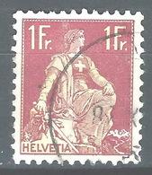 NN-/-563-   N° 126a, Papier Grillé,  Obl.,  Cote 4.00 € . Je Liquide - Switzerland