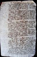 PRISON JUSTICE 18 ° INTERROGATOIRE MANUSCRIT  AU CHATELET D'UN VOLEUR DE BAGUE AVEC NOMBREUX DETAILS ET INDICES - Historical Documents