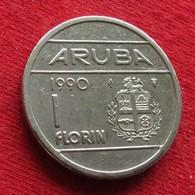Aruba 1 Florin 1990 KM# 5 *V2 - [ 4] Colonies