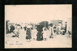OOSTENDE - 1907 - Sur Le Sable - Oostende