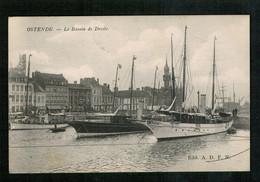 OOSTENDE - 1907 - Le Bassin De Droite - Oostende