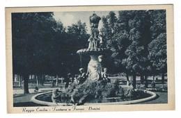 5172 - REGGIO EMILIA FONTANA A FERRARI - BONINI ANIMATA 1938 - Reggio Nell'Emilia