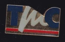 63865- Pin's-Télé Monte-Carlo, Plus Connue Sur Le Sigle De TMC - Médias