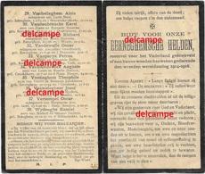 Oorlog Guerre Gesneuvelde Soldaten Van Eernegem 1914 1918 Diksmuide Ramskapelle Haelen  Boezinge Kaaskerke Nieuwpoort - Images Religieuses