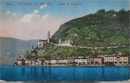 Un Saluto Da Morcote - Lago Di Lugano - HP2205 - TI Tessin
