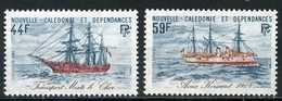 Nouvelle-Calédonie YT 459-460 XX / MNH Bateau Navire Boat Ship - Neukaledonien