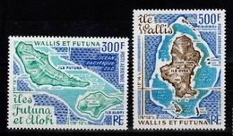 Wallis Et Futuna - YV PA 80 & 81 N** Complete Cote 43 Euros - Unused Stamps