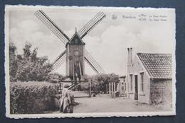 Carte Postale Bredene Breedene Le Vieux Moulin De Oude Molen - Bredene