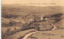 A Vol D'oiseau Au-dessus D'Aywaille - Aywaille