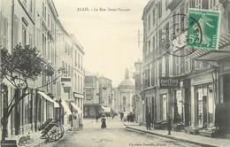 ALAIS-la Rue St Vincent - Alès