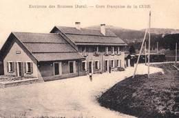 CPA /    Environ Des Rousses (39) La Gare De La Cure  Pp Du Train !. Rare      Se Trouve En Suisse ? - France