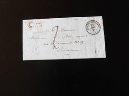 LETTRE DE GRAND COURONNE POUR ROUEN  -  1840  - - 1801-1848: Précurseurs XIX